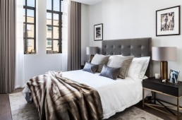 The Maple Building Kentish Town NW5 London apartment new build master bedroom