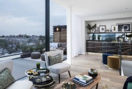 Maple building London Kentish Town NW5 new build home penthouse apartments winter garden