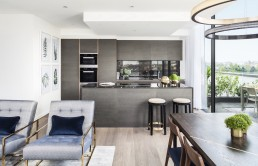 Maple building London Kentish Town NW5 new build home penthouse apartments kitchen